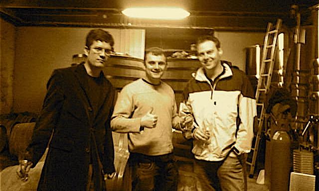 Gary Vaynerchuk & Ian Dorin (Wine Library) and Enrique Ibañez  (IPO Wines) visit La Pèira La Peira