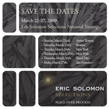 Tasting in Boston, New York, San Francisco With Eric Solomon | European Cellars La Peira