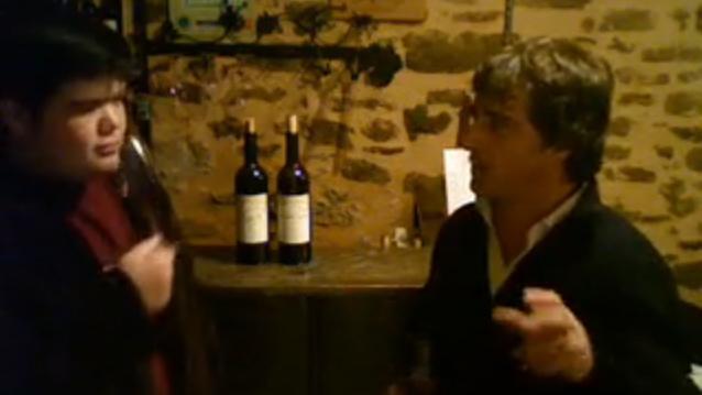 Ryan O'Connell's Languedoc Wine Site: Virgile Joly, La Peira, Daumas Gassac visit with Aimé Guibert... La Peira