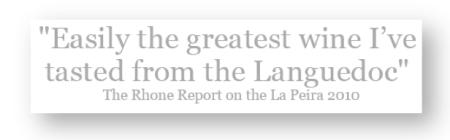 Rhone Report La Peira 4