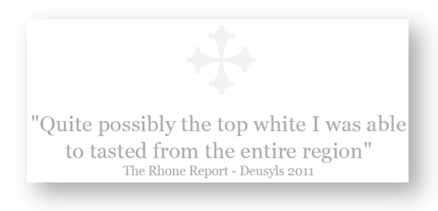 Rhone Report La Peira 5