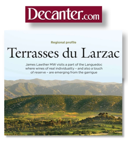Terrasses du Larzac Decanter Magazine*1