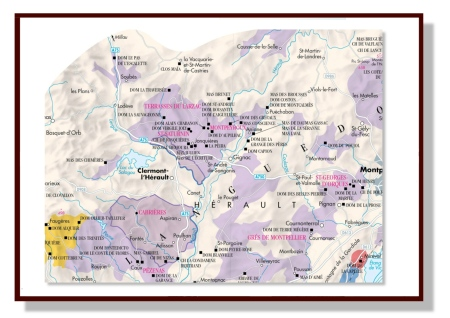 La Pèira Map in the The World Atlas of Wine, 7th Edition by Hugh Johnson & Jancis Robinson 4