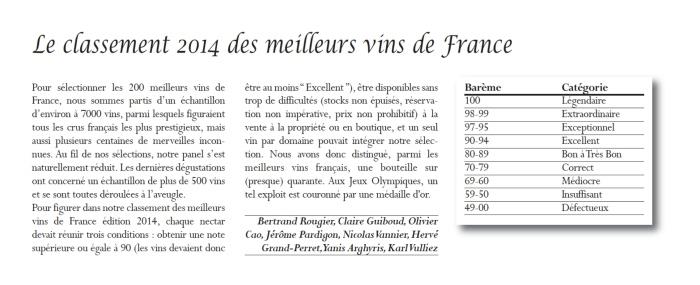 Lafont Press - Le Classement 2014 de Meilleurs Vins de France (3)