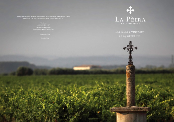 Cover Image from La Peira vintages 2012-2013 (reviews)-5